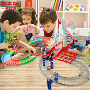 托马斯/碟中碟城市电动轨道车玩具小汽车托马斯小火车套装,培养孩子的...