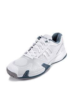 透气速干 男款白色网球鞋 白色