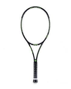 理想操控 中性绿色/黑色专业单人网球拍 绿色/黑色